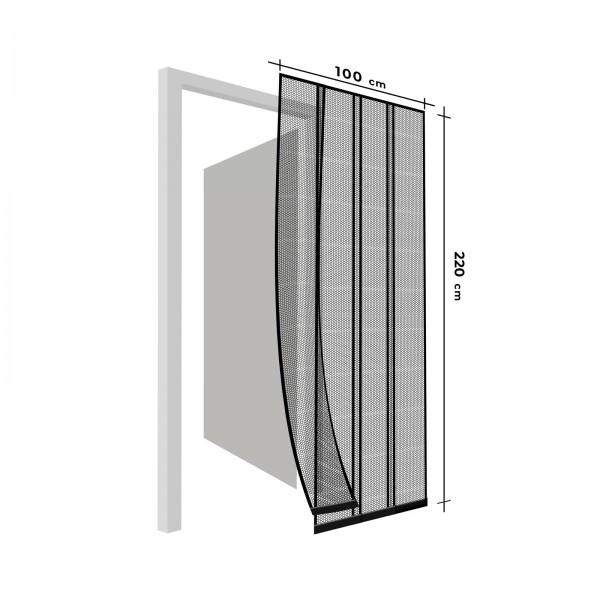 Plasă antiinsecte pentru ușă - 100 x 220 cm