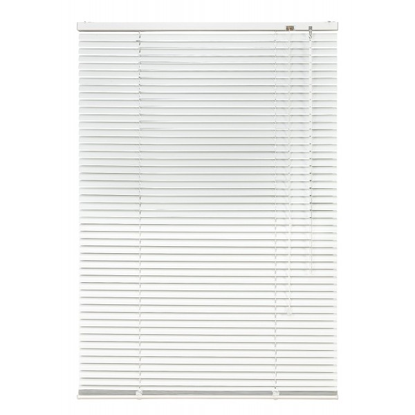 Jaluzele orizontale PVC, albe, dimensiuni standard