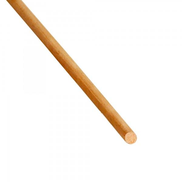 Oval beech wood rod, 40*30 mm, length 80/85 cm, A+ quality