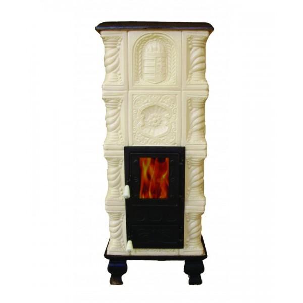 MEDIAS portable oven, white bowl, 44 (L) x 44 (L) x 114 (H) cm, room volume heated 40 mc